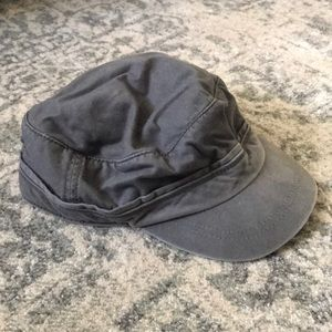 Abercrombie & Fitch slate gray hat
